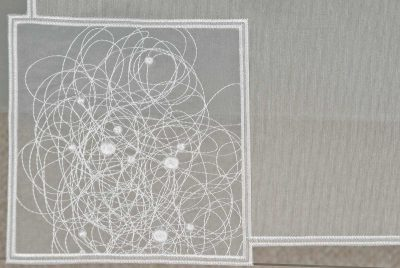 Moderne Tischdeckchen Schneeballspitze modern Detailbild_1